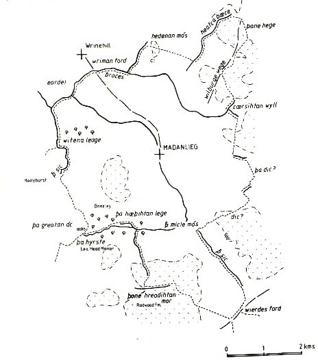 madeley map